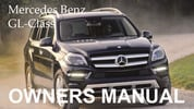 Thumbnail MERCEDES BENZ 2010 GL-CLASS GL350 BLUETEC GL450 GL550 OWNERS OWNER'S USER OPERATOR MANUAL