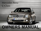 Thumbnail MERCEDES BENZ 2010 C-CLASS C250 C300 C350 C63 4MATIC SPORT OWNERS OWNER'S USER OPERATOR MANUAL (PDF)