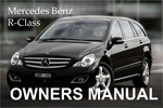 Thumbnail MERCEDES BENZ 2010 R-CLASS R350 R350 BLUETEC OWNERS OWNER'S USER OPERATOR MANUAL