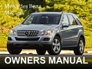 Thumbnail MERCEDES BENZ 2011 M-CLASS ML350 ML550 BLUETEC 4MATIC ML63 AMG OWNERS OWNER'S USER OPERATOR MANUAL