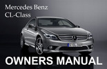 Thumbnail MERCEDES BENZ 2011 CL-CLASS CL550 CL600 CL63 CL65 AMG CGI 4MATIC BLUEEFFICIENCY OWNERS OWNER'S USER OPERATOR MANUAL (PDF)