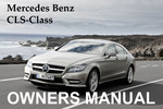 Thumbnail MERCEDES BENZ 2011 CLS-CLASS CLS550 CLS63 AMG OWNERS OWNER'S USER OPERATOR MANUAL