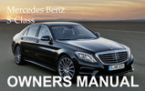 Thumbnail MERCEDES BENZ 2012 S-CLASS S550 4MATIC BLUEEFFICIENCY S63 S65 AMG OWNERS OWNER'S USER OPERATOR MANUAL (PDF)