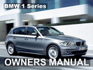 Thumbnail BMW 2011 128i 135i CONVERTIBLE COUPE OWNERS OWNER'S USERS OPERATORS MANUAL